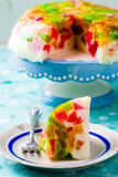 Dessert. Beaten glass. selective focus royalty free stock photography