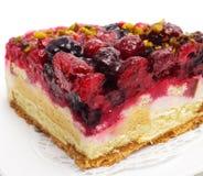 Dessert - Berries Cake Royalty Free Stock Photos