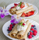 French crepes Royalty Free Stock Image