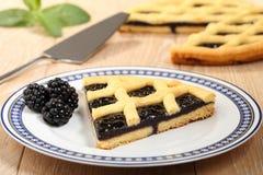 Dessert blackberry pie Royalty Free Stock Image