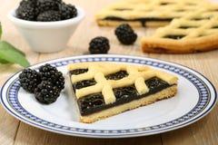 Dessert blackberry pie Royalty Free Stock Photo