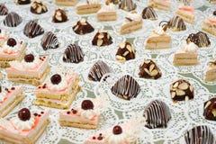 Dessert buffet Stock Image