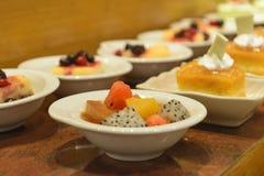 Dessert buffet Stock Photos