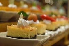 Dessert buffet Royalty Free Stock Photography