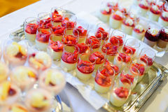 Dessert Buffet Royalty Free Stock Photo