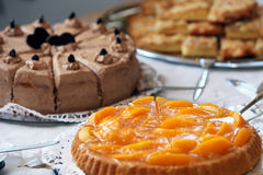 Dessert buffet at a wedding reception Stock Image