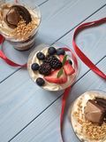 Dessert cake stock image