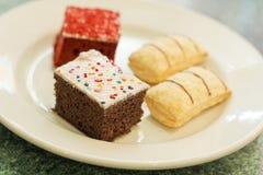 Dessert Cakes Stock Photo