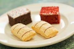Dessert Cakes Royalty Free Stock Photos