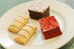 Dessert Cakes Royalty Free Stock Image