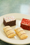 Dessert Cakes Stock Image