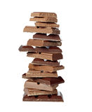 Dessert candy  food chocolate stack Stock Photo