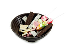 Dessert. Candy is a snack for kids Royalty Free Stock Photography
