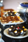 Dessert ; Caramel de crème Images stock