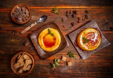 Dessert catalan typique Image stock