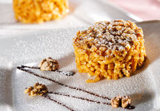 Dessert - chak-Chak royalty-vrije stock fotografie