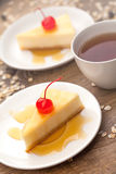 Dessert - Cheesecake Stock Photo