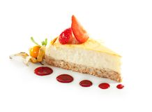 Dessert - Cheesecake Royalty Free Stock Photos