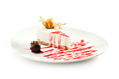 Dessert - Cheesecake Royalty Free Stock Images