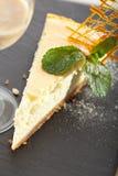 Dessert - Cheesecake Royalty Free Stock Image