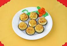 Dessert chinois de paraboloïde image libre de droits