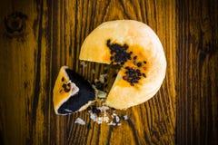 Dessert chinois sur dessert en bois/chinois/dessert chinois sur le fond en bois Images libres de droits