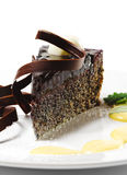 Dessert - Chocolate Cake Royalty Free Stock Photo