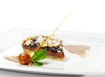Dessert - Chocolate Shortcake Royalty Free Stock Photo