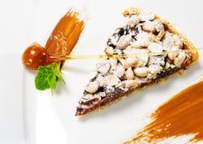 Dessert - Chocolate Shortcake Stock Image