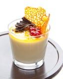 Dessert with Chocolate sticks. Stock Photography