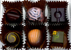 Dessert Chocolates Stock Photo