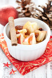 Dessert for christmas Royalty Free Stock Image