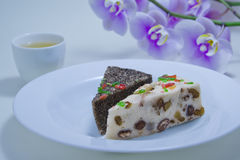 Dessert cinese Immagini Stock