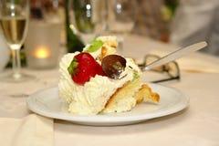 Dessert on classy celebration Royalty Free Stock Image