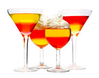 Dessert cocktail Royalty Free Stock Images