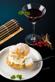 Dessert and cocktails Royalty Free Stock Image