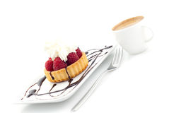 Dessert and coffee Royalty Free Stock Image
