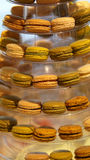 Dessert coloful de Macaron Images libres de droits