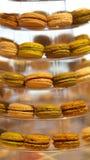 Dessert coloful di Macaron Fotografie Stock