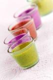 Dessert coloré de Bavareses Image stock