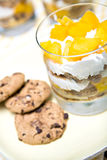 Dessert con il mango Immagini Stock