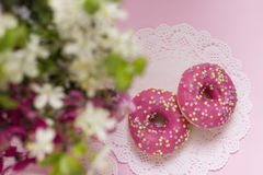 Dessert Concetto del rinfresco Alimento dolce Fotografia Stock Libera da Diritti