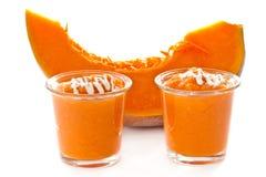 Dessert of cooked pumpkin Stock Photography