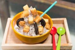 Dessert coréen - bingsu photographie stock libre de droits