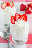 Dessert from cottage cheese Royalty Free Stock Photo