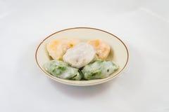 Dessert cotto a vapore cinese Immagine Stock