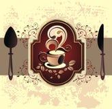 Dessert cover design Royalty Free Stock Image