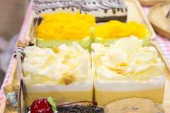 Dessert cream cake Royalty Free Stock Photography