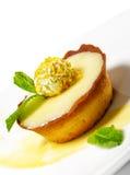 Dessert - Cream Tart Royalty Free Stock Photos
