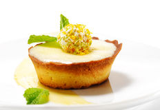 Dessert - Cream Tart Royalty Free Stock Photos